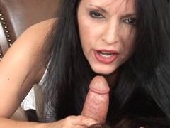 Deceitful Anya Blows Cock Cum Shot On Whisker
