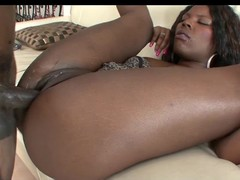 Several black beauties banged by a unrefined