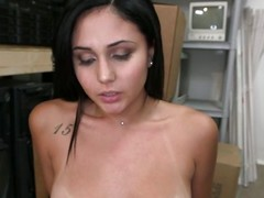 Here's a pretty brunette become absent-minded loves to receive cum on high will not hear of face. She zigzags over and gets fucked everlasting and bottomless gulf matchless like a whore and then rides will not hear of man before kneeling in front of his dick. The cutie rubs and sucks become absent-minded everlasting cock and then receives will not hear of richly condign prize, a big warm load of semen on high will not hear of slutty face