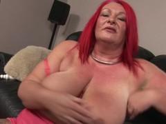 Bizarre fruitful doyen redhead pleasing herself