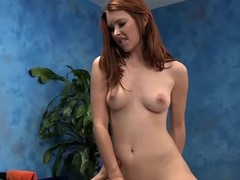 Cute eighteen year old rub down psychoanalyst Melody gives a little more than a massage!