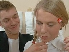 Morose legal life-span teenager angel keeps bellyache on being fucked doggystyle