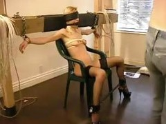 Jezza gets tied up and abused by her tormenting master is this clip