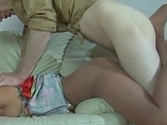 Toper golden-haired falls asleep and gets dicked thru will not hear of control top hose