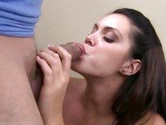 Enmeshed Alison Tyler loves gulping down hot jizz