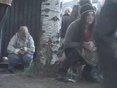 Sexy pissing video of some teens go wool-gathering did very different from espy the camera go wool-gathering was filming them, while their were doing their natural thing.