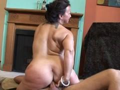 Saggy Titted Elder Nina Is Good Like manner Fuck
