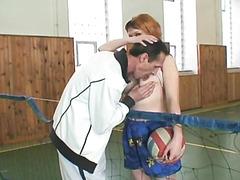 Grandpa screwing her student