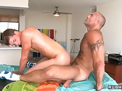 Fucking with get under one's perfectly built guy toy