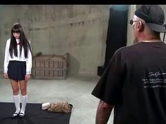 Retribution BDSM Japanese submissive suspension
