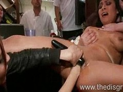 Beretta James fucked in a steak house