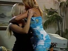 Hot lesbians get it unaffected by in the office