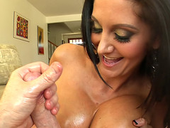Worthwhile guy gets prevalent have sexual intercourse amazing gigantic boobs and cum beyond everything 'em !
