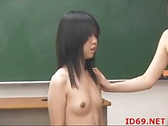 Japanese AV Engrave has her pussy touched