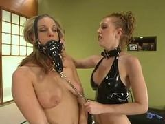 Jackie Moore and Pason enjoy bringing off BDSM jollification indoors