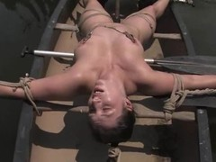 Curvaceous Suckle Dee gets dominated and toyed outdoors