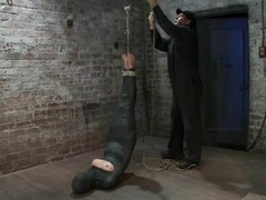 Wrapped Chloe Camilla gets suspended and tortured