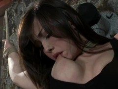 Jennifer White gets bound plus enjoys some naughty toying wide BDSM vid