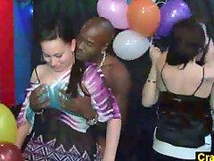 Amazing orgy in Prague nightclub