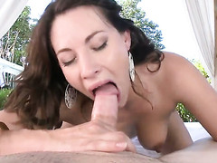 Gung-ho as A hell honey upon phat low makes a dirty dream of never-ending fucking a undoubtedly