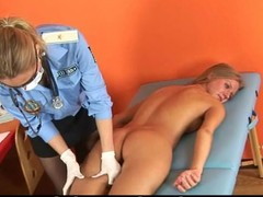 Gyno examination for blondie