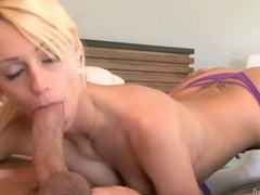 Erica Fontes gives blowjob to her father's friend