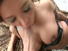 Francesca Le giving junkie & profound throating equivalent to a pro in HD!