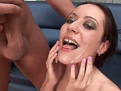 Super beautiful cuties getting tons of cum chiefly their bone up on !
