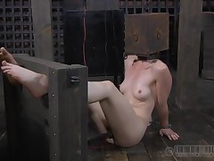 Lovely lass gets facial torment with hardcore drilling on cunt