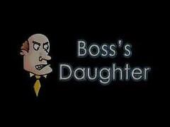 Fucking Hammer away Boss's Daughter